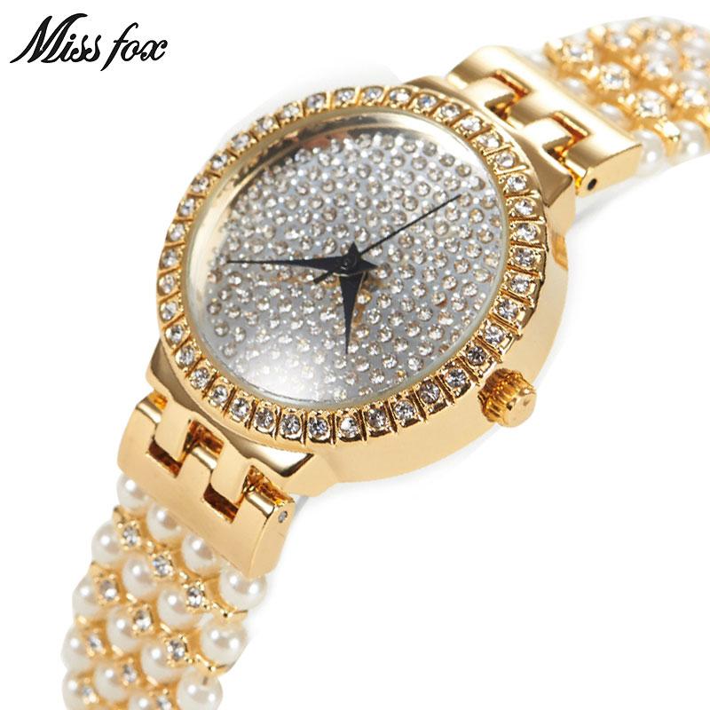 MISSFOX Miss Fox Luxe dameshorloges Zilveren armband dameshorloge - Dameshorloges - Foto 1