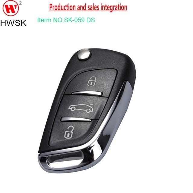 Sk019c Folding Car Key Auto Key Rolling Code Remote