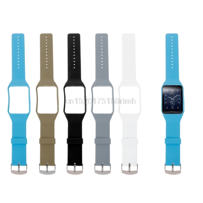 Free Shipping Free Shipping Silicone Wrist Band Strap Replacement For Samsung Galaxy Gear S SM-R750 Smart Watch