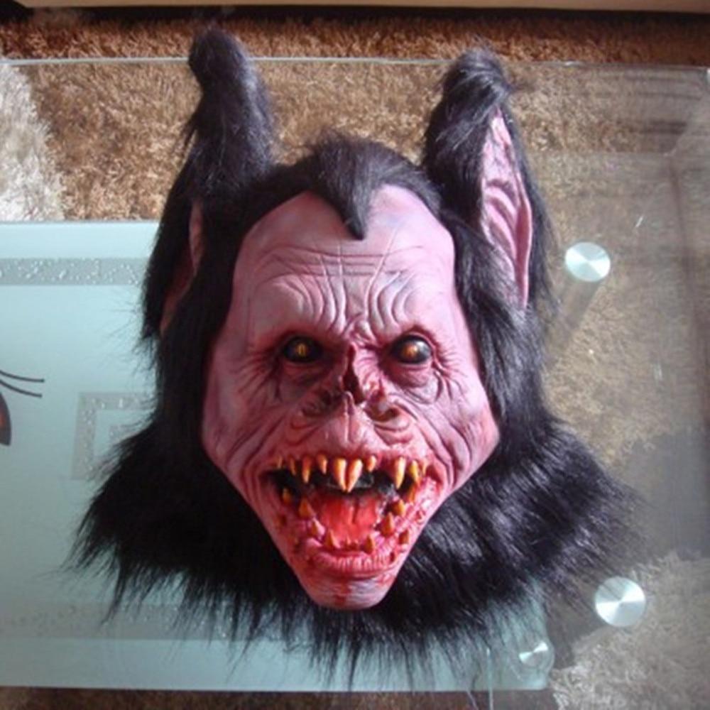 Party Masks Bat Strange Mask Halloween Scary Face Mask