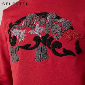 Image 4 - SELEZIONATO misto Cotone degli uomini Pullover Felpa Maiale di Cartone Animato di Stampa Lavorato A Maglia Vestiti Magliette E Camicette S