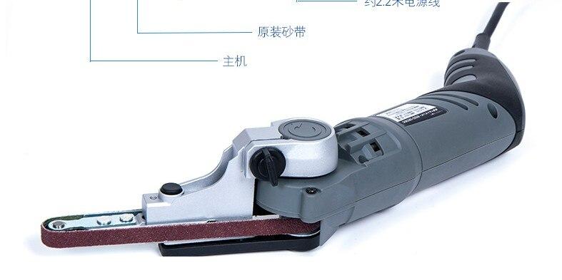 Pulidora de lijadoras de correa de tubo 220v, máquina de pulido - Herramientas eléctricas - foto 4