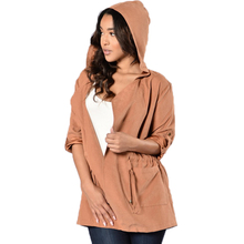 Autumn 2017 Turn Down Collar Casual Women Trench Adjustable Waist Slim Trench Coat With Hood Long Sleeve Leisure Coat Female XXL