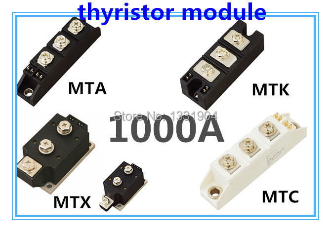 цена на New brand Thyristor Module MFC MFA MFK MFX 1000A welding joint scr module silicon control module compression joint