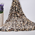 [Jinjin. КК] Мода вискоза Шарф зима Женщины Leopard Шарфы и Шали écharpe платки femme теплый шарф джерси хиджаб
