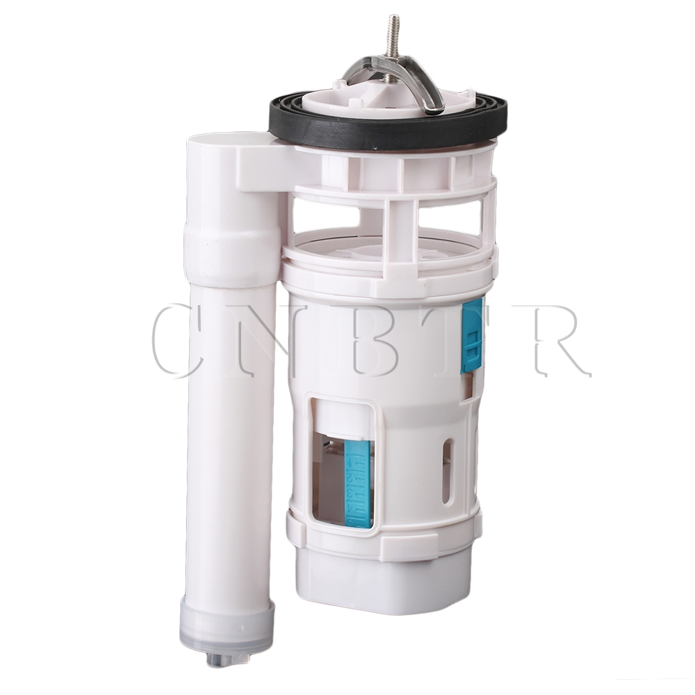 CNBTR Toilet Connected Water Tank Dual Flush Fill Drain Valve 18cm Height Adjustable free shipping mj dn20 g3 4 water tank plastic float valve water float valve flush valve toilet flush valve