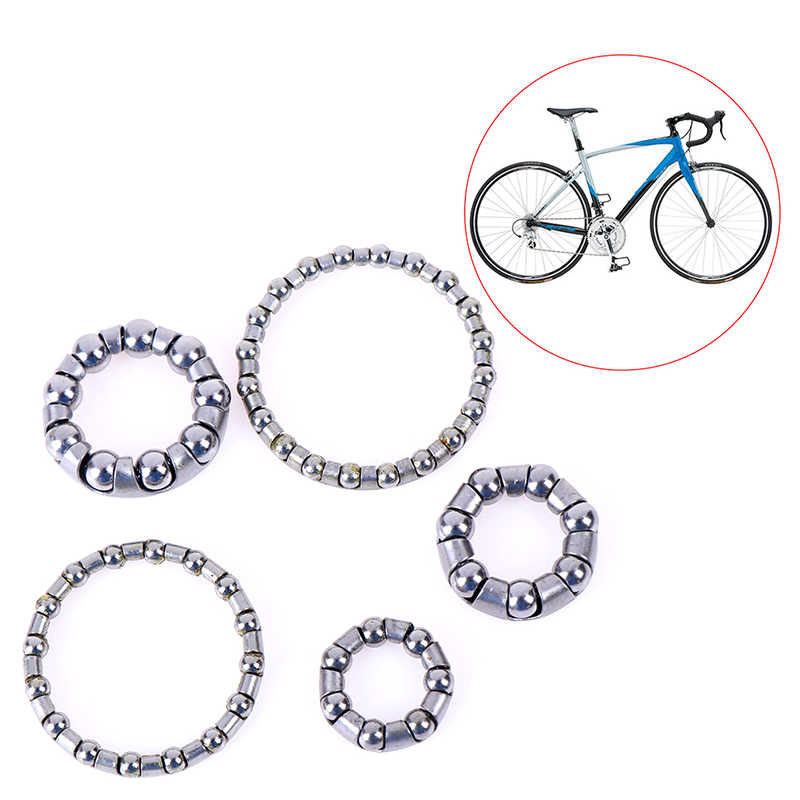 Bicycle Headset Steel Balls Bowl Group Set Frame Front Fork Rear Pearl Retainers Cycling Headset Bearing Bicicleta Parts Tools