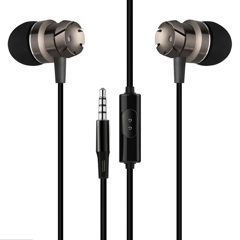 3.5mm Jack In-ear Earphone For Asus Zenfone Max Pro (M1) ZB601KL Clear Heavy Bass Stereo Music Headset Earbuds Earpiece With Mic