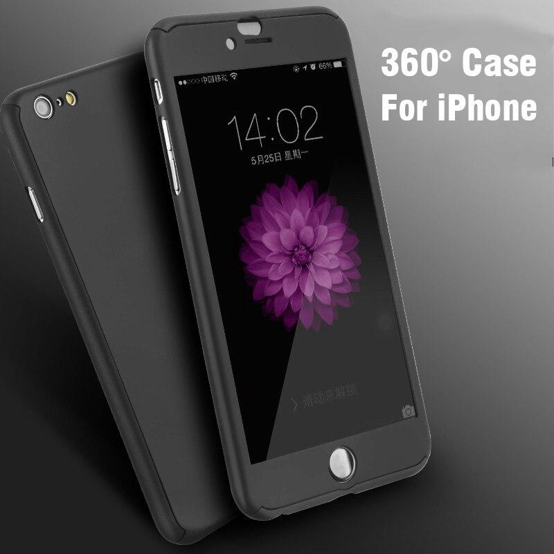 Buy FLOVEME New Hybird Hard 360 Case Cover For Iphone 7 6 6S Plus Fundas Phone