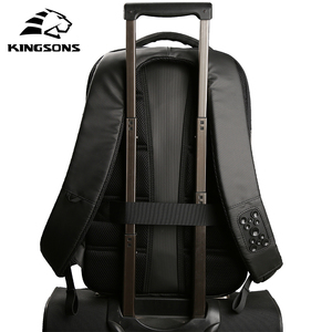 Image 4 - Kingsons Phone Sucking Backpacks Daily Casual Daypacks Travel Backpack Suit For Teenager Business man Student