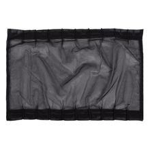 Универсальная автомобильная УФ Солнцезащитная занавеска сетка черная летняя тонировка для окон автомобиля