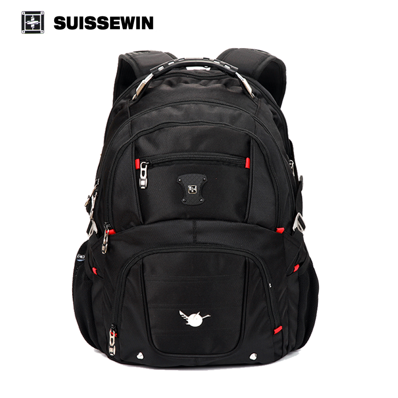 Suissewin pegasus quality laptop bag men double-shoulder travel backpack military 15 16 laptop bags sn8112 brand sale SW8112 high quality authentic famous polo golf double clothing bag men travel golf shoes bag custom handbag large capacity45 26 34 cm
