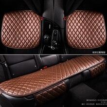Cubiertas generales de Cojines de asiento de coche, cubierta de asiento de coche, cubiertas de asiento de camión, cojín de cuero negro para coche, cuatro estaciones en general