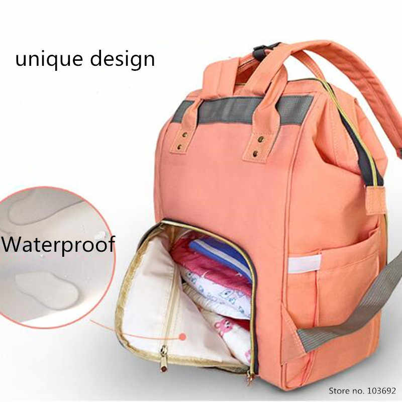 ... LAND Baby Bag Fashion Nappy Bags Large Diaper Bag Backpack Baby  Organizer Maternity Bags For Mother ... 929a06133a1bf