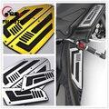 Acessórios da motocicleta 4 pcs placa dianteira e traseira da motocicleta estribo passos pé pegs para yamaha t-max 530 tmax 530 2012-2015