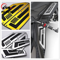 Motorcycle Accessories 4pcs Front and Rear Motorcycle Footboard Steps Foot Pegs Plate for Yamaha T-Max 530 TMax 530   2012-2015