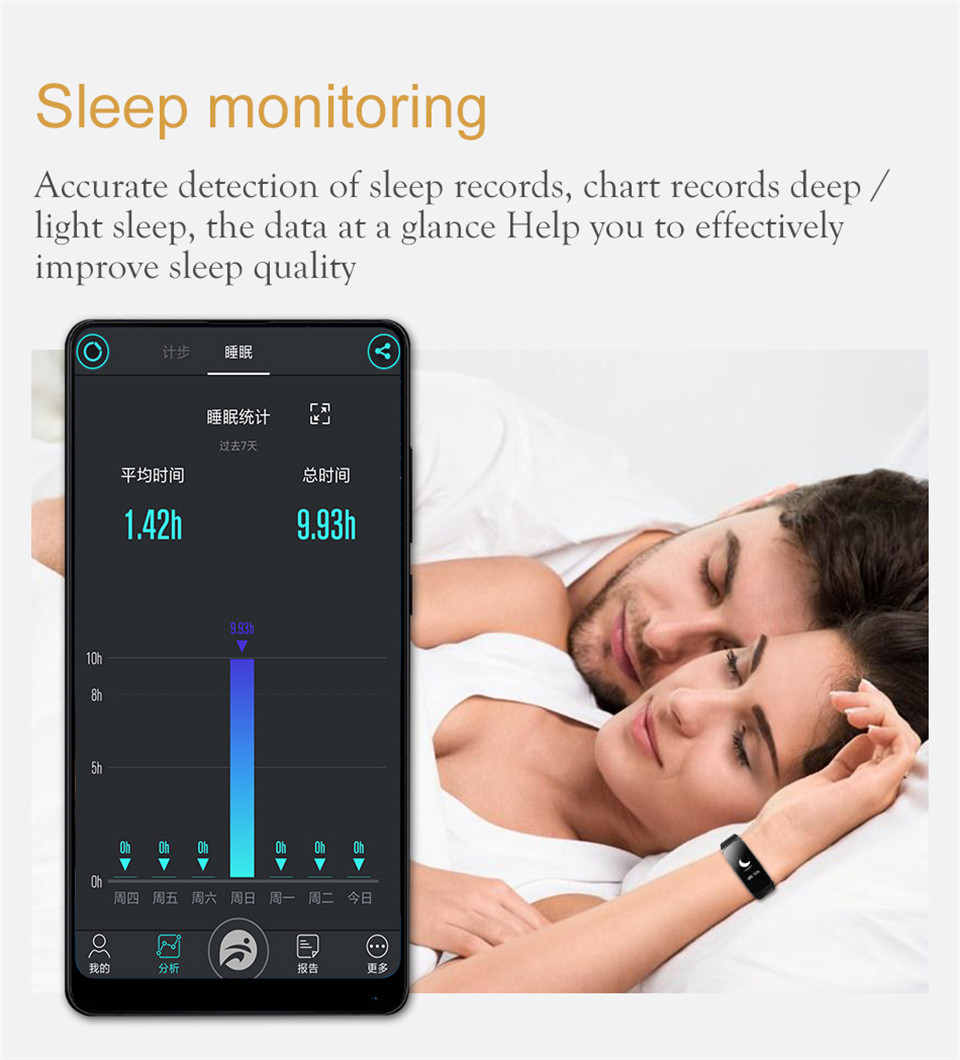 YKSO Bluetooth Smart band With SIM Card  smart bracelet B3 Plus Smart Wristband Heart Rate Monitor Smart band  (14)