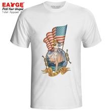 US Navy Girl T-shirt USA Eagle Flag Culture Patriot Hip Hop Novelty Punk T Shirt Fashion Print Casual Women Men Top Tee military sniper die tired t shirt men us marines sas army usmc casual army tee hip hop punk style oversized t shirt off white