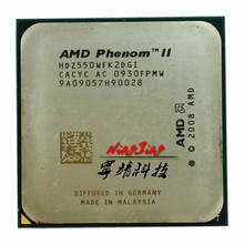 AMD Phenom II X2 550 3.1 GHz Dual-Core מעבד מעבד HDZ550WFK2DGI שקע AM3(China)