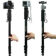 """Tripé WT1003 Monopé Câmera Tripé Leve 67 """"Suporte de Câmera Para Canon Eos Nikon Sony Fuji Olympus Todas As CÂMERAS DSLR"""