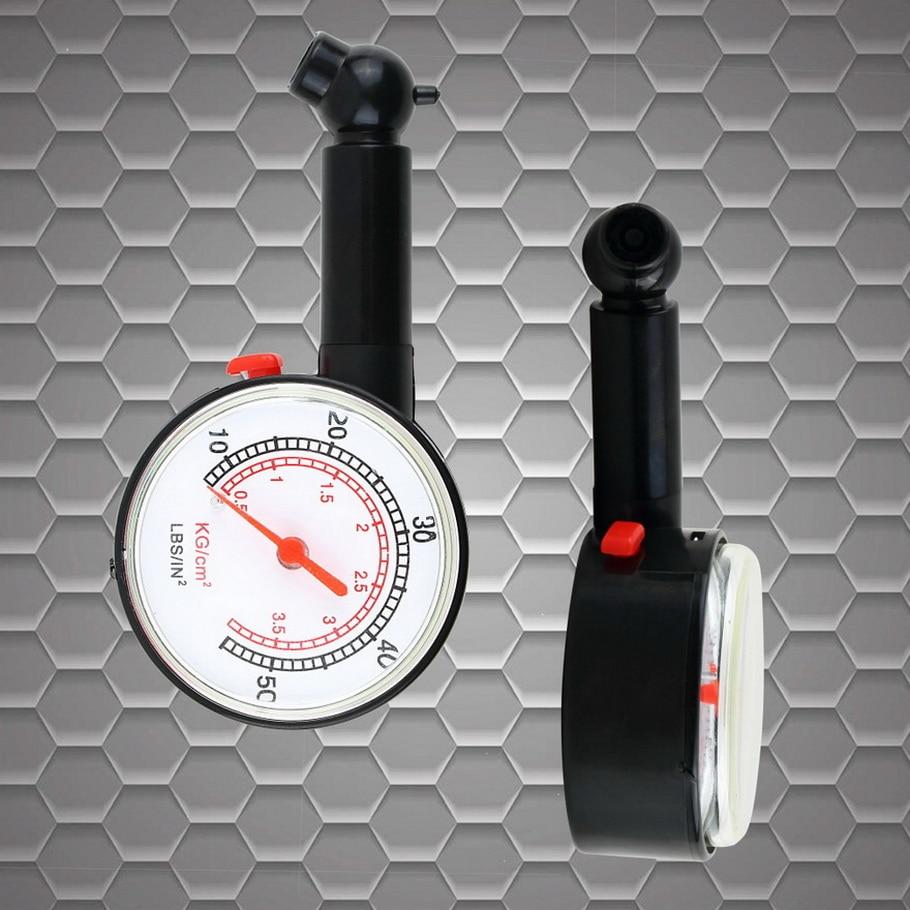 2pcs Meter Tire Pressure Gauge Auto Car Bike Motor Tyre Air Pressure Gauge Meter Vehicle Tester monitoring system hot sale