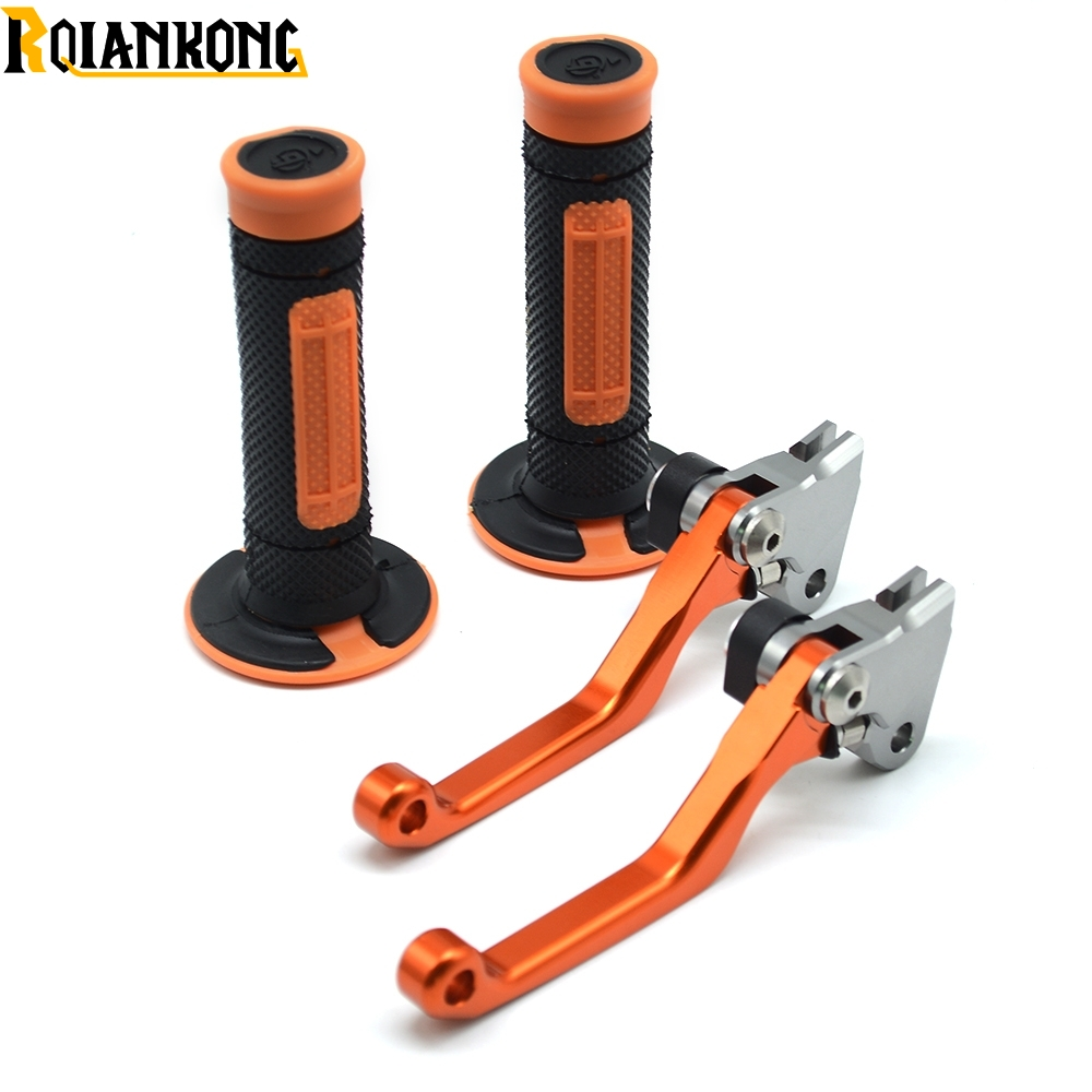 Motorcycle Brake Clutch Levers Pivot Handle Hand Grips For Dirt Bike KTM 200XC W 200EXC 200XC 200 XC W 2003 2008 in Levers Ropes Cables from Automobiles Motorcycles