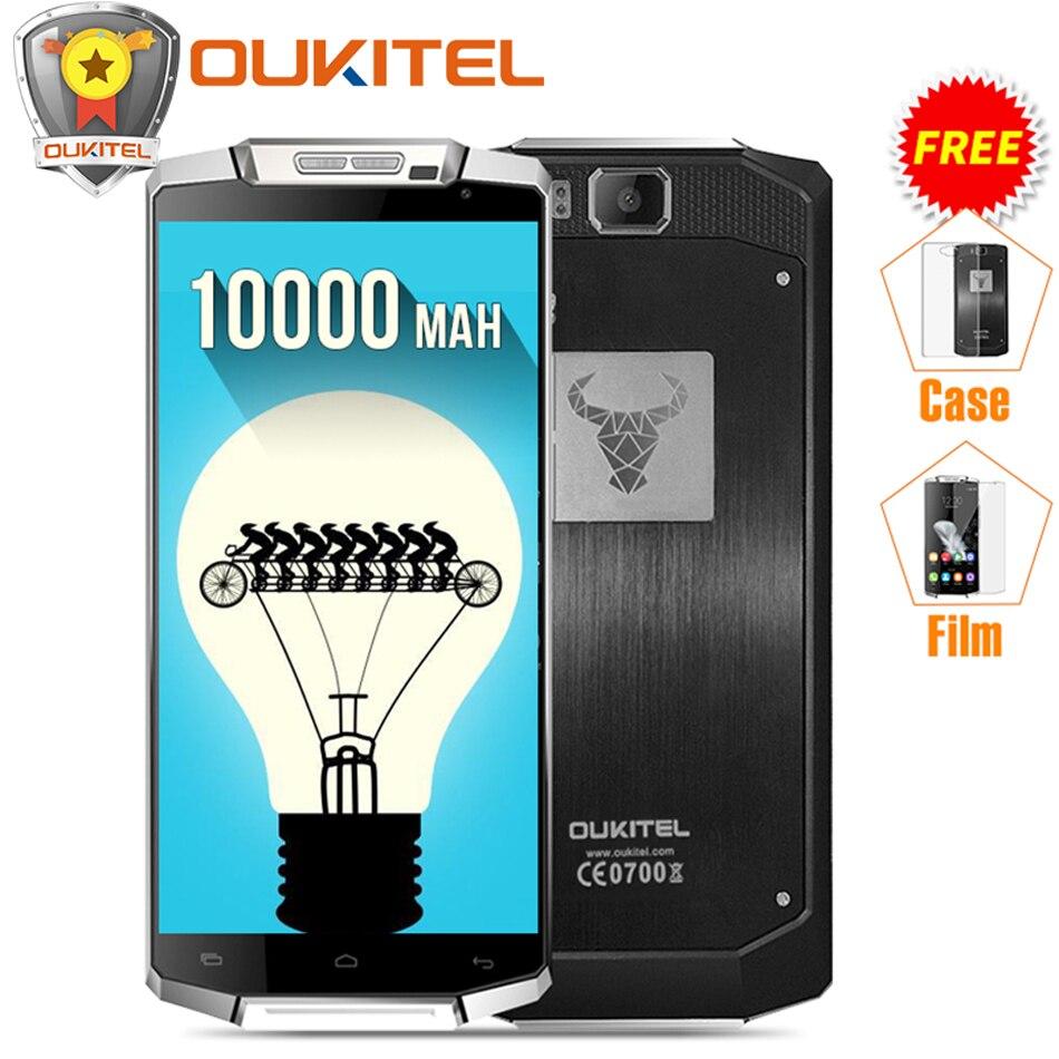 "bilder für Geschenk) Original Oukitel K10000 5,5 ""HD 4G LTE Handy 10000 mAh Android 6.0 MTK6735P Quad Core 2 GB RAM 16 GB ROM 8MP Smartphone"