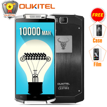 Original Oukitel K10000 5.5″ 4G LTE Mobile Phone 10000mAh Battery Android 6.0 MTK6735P Quad Core 2GB RAM 16GB ROM 8MP Smartphone