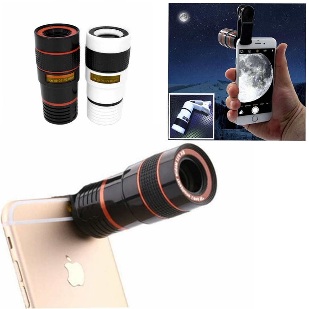 New Hot Transform Your Phone Into A Professional Quality Camera!! Hd360 Zoom Hot Phone Accessories Phone Telescope Regular Tea Drinking Improves Your Health