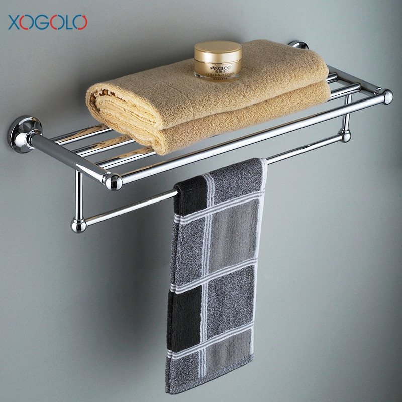 Xogolo Stainless Steel Chrome Wall Mounted Bath Hardware Sets Paper ...