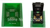 100% NOVA IC51-1004 QFP100 IC Socket Test Connector/Adaptador Programador/Burn-in Soquete do Conector (IC51-1004-809)