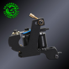 Newest Handmade Professional Tattoo Machine Wire Cutting Liner And Shader 10 Wraps Coil Tattoo Guns Supplies