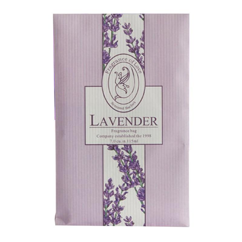 Подвесное ароматное саше Ароматерапия сумка анти-вредитель и анти-плесень для гардероба шкаф автомобильный аромат воздуха Освежитель домашние ароматы - Цвет: Лаванда