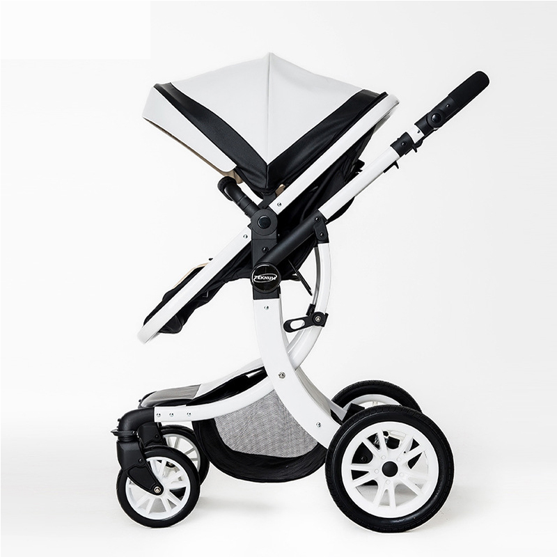 Baby Stroller 2 in 1 With Car Seat High Landscope Folding Baby Carriage For Child From 0-3 Years Prams For Newborns baby stroller 3 in 1 high landscape baby carriages for kids with baby car seat prams for newborns pushchair baby car