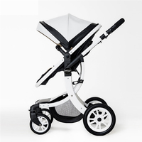 Baby Stroller 2 in 1 With Car Seat High Landscope Folding Baby Carriage For Child From 0 3 Years Prams For Newborns