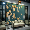 Beibehang Custom Photo Wallpaper Large Mural Wall Stickers Hand Painted Flowers And Birds Court Background Wall