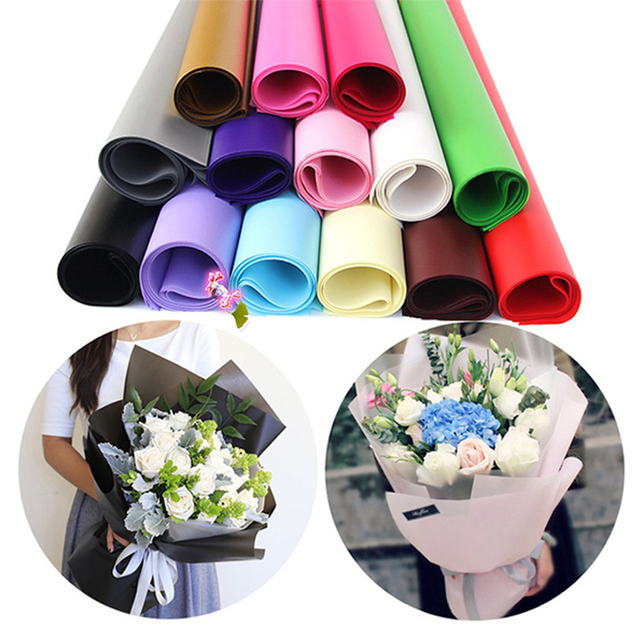 20pcs Lot Paper Flower Wrapping Tool Packaging Mist Material