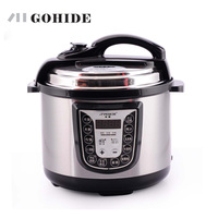 JUH Brand New 1pc Stainless Steel Electric Pressure Cooker Cookware Intelligent Electric Pressure Cooker