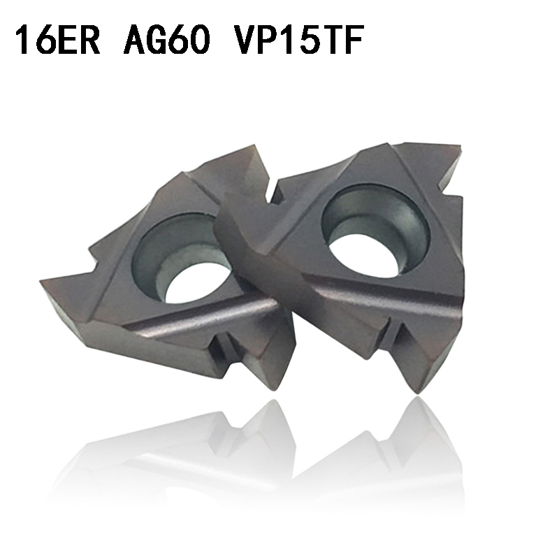 MMT 16ER AG60 VP15TF carbide inserts Thread Turning tool cutting tool Lathe Tools Milling cutter CNC tool 16ERAG60MMT 16ER AG60 VP15TF carbide inserts Thread Turning tool cutting tool Lathe Tools Milling cutter CNC tool 16ERAG60