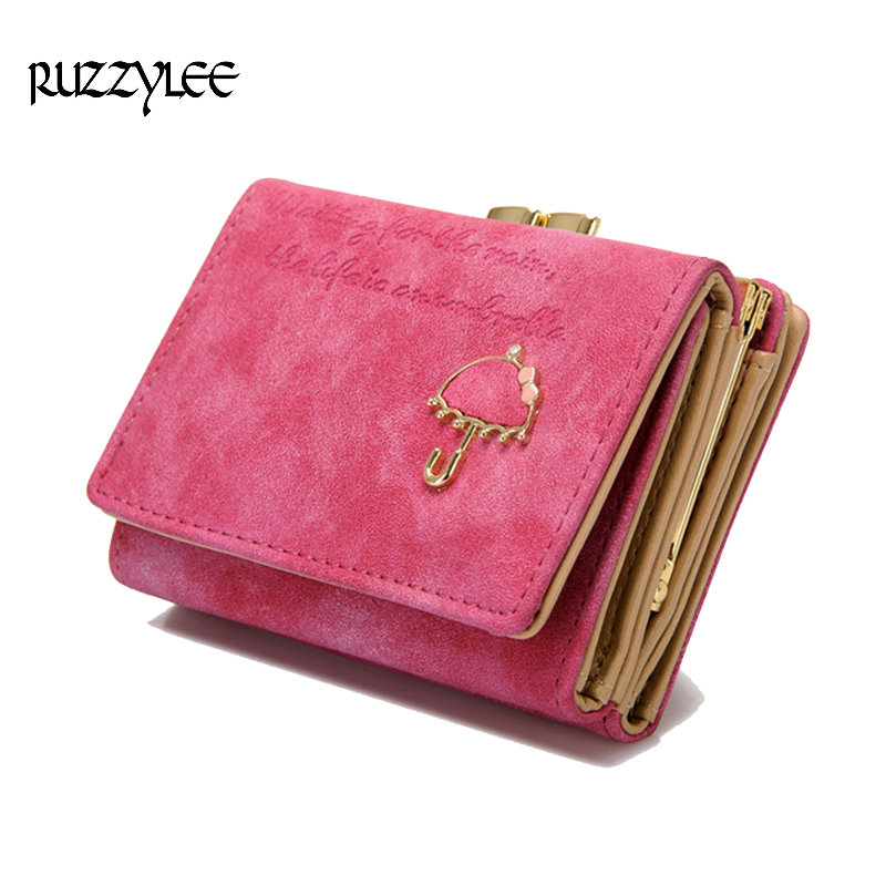Small Hasp Women's Wallet For Mini Luxury Female Leather Wallets And Purses High Quality Lady Purse Clutch Card Holder Wristlet