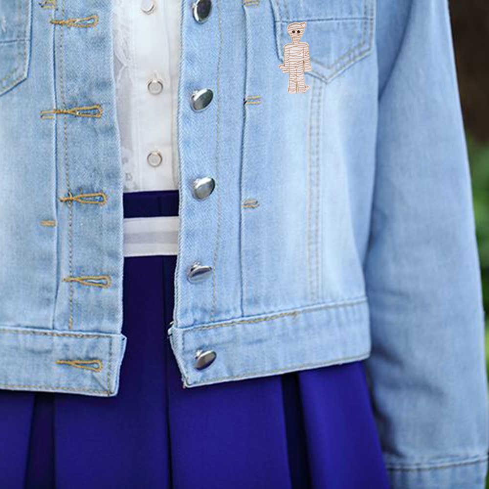 Скелет Зомби Череп Призрак мягкой эмалью шпильки броши для мужчин и женщин шляпа сумка куртки интимные аксессуары нагрудные булавки для ее его панк Темн