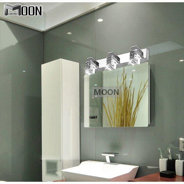 Caliente venta 3 watt LED Crystal Mirror apliques de pared llevada ...