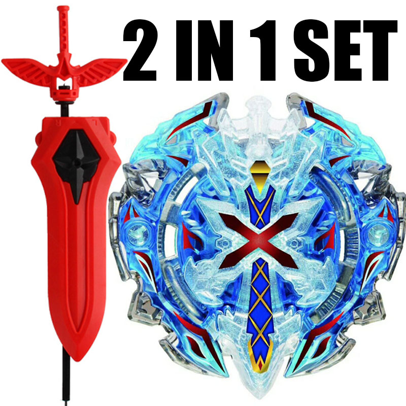 B-67 BLUE Xeno Xcalibur / Xcalius / Excalibur DOWN ORBIT Burst BOOSTER Spinning Top Toy Kids With Sword Launcher(China)