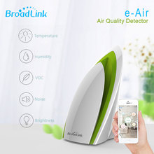 BroadLink A1 E-Detector de Qualidade do Ar Purificadores de Ruído PM2.5 VOC por telefone Inteligente De Temperatura E Umidade Sem Fio detectar Casa Automatio