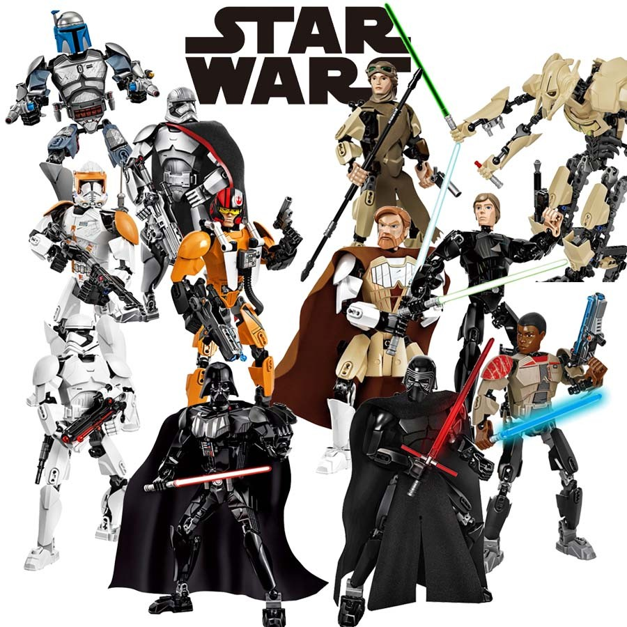 Blocks Star Wars Assembly Action Figure 20