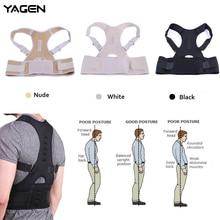 YAGEN Magnetic Therapy Posture Corrector Brace Shoulder Back Support Belt for Men Women Braces & Supports Belt Shoulder Posture