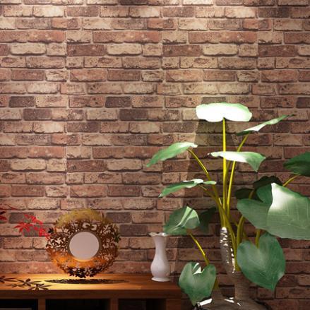 Us 51 0 3d Stein Tapeten Naturlichen Rustikale Rote Ziegelstein Tapete Vintage 3d Effekt Design Pvc Tapete Fur Wohnzimmer Schlafzimmer In 3d Stein