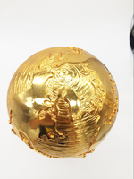 Free Shipping1 1 36cm World Cup Football Trophy Resin Replica Trophies Model Brazil World Cup Best