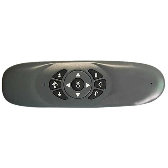 Мини беспроводная клавиатура Пульт дистанционного управления для Andriod tv Box Цвет: черный