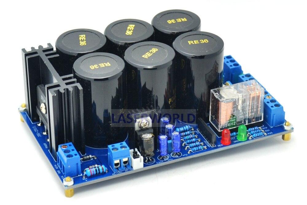 F6 Scheda di Alimentazione Universale di protezione degli altoparlanti Per Amplificatore Board 15-36 V